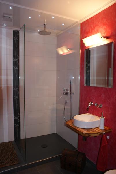 g stebad mit dusche dirk pfau heizung sanit r. Black Bedroom Furniture Sets. Home Design Ideas